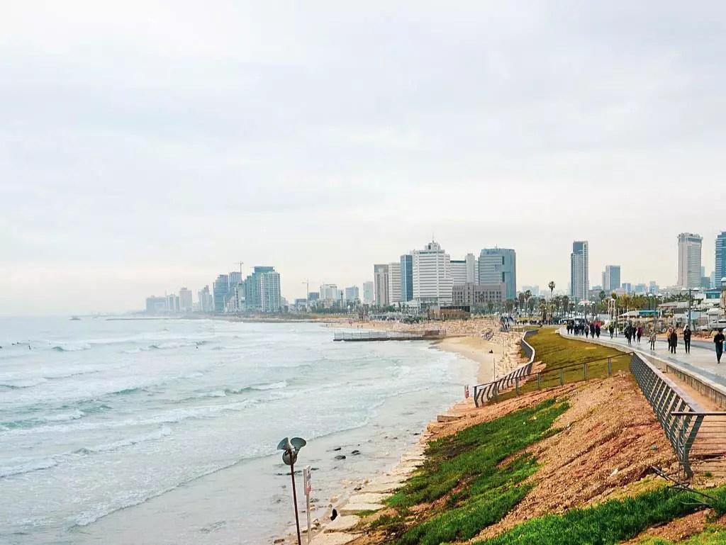 Tel Aviv von Jaffa aus