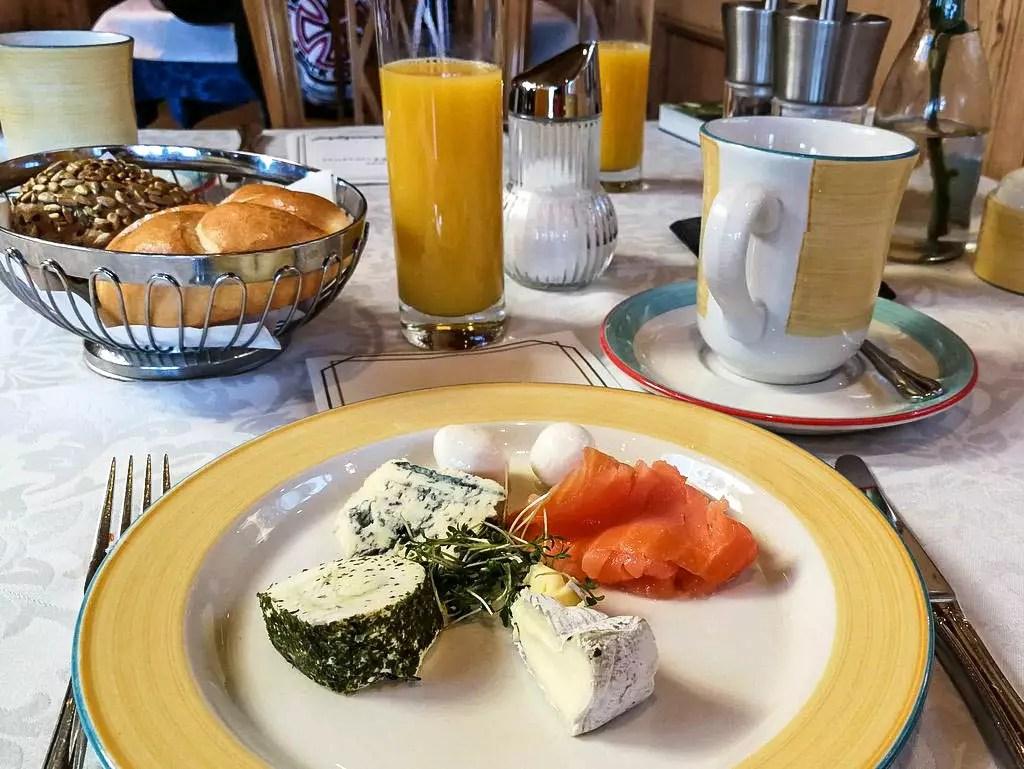 Frühstück im Laschenskyhof