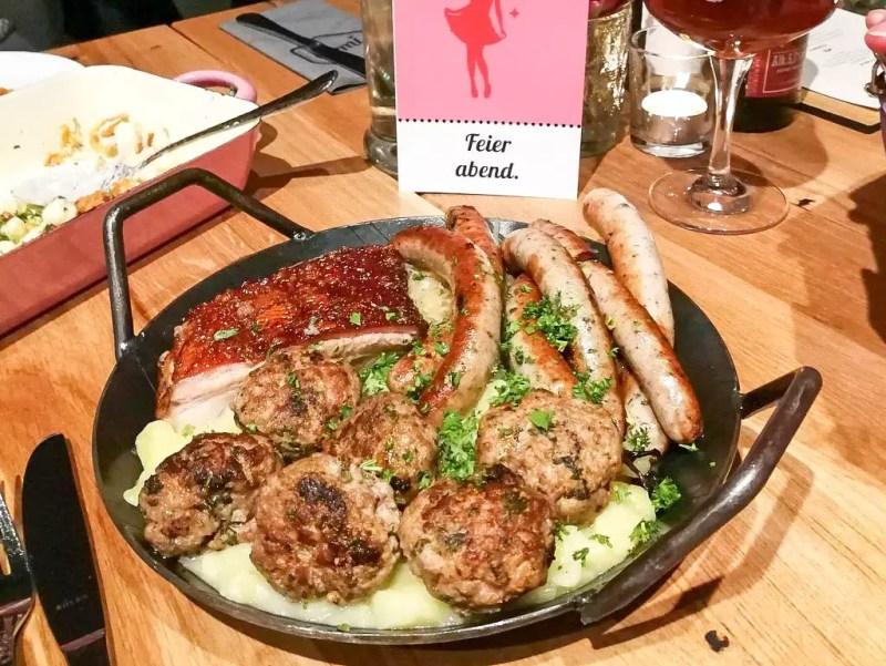 Abendessen Restaurant Irmi München