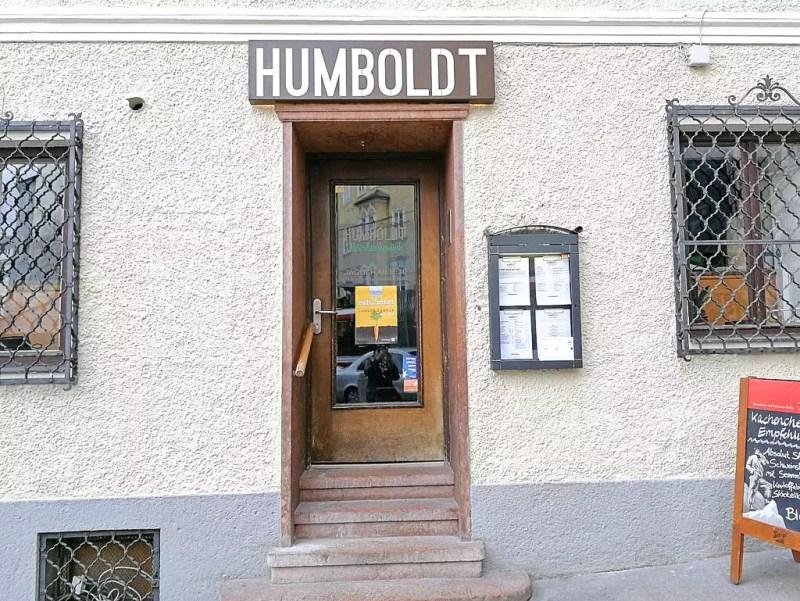 Eingang Humboldtstube