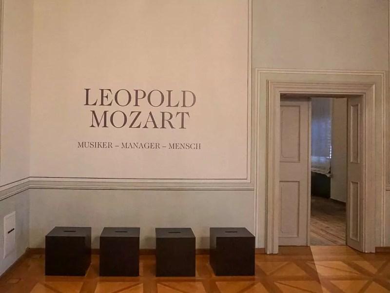 Ausstellung 300 Jahre Leopold Mozart