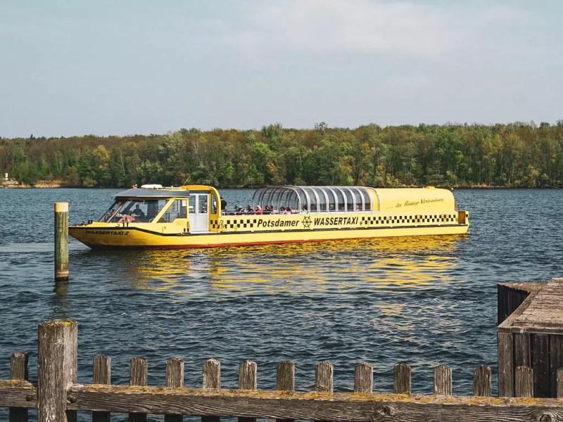 Wassertaxi Potsdam