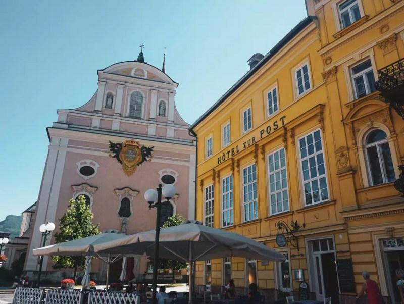 St. Nikolaus und Hotel Post Bad Ischl