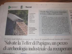 Telfer da Salvare Corriere Umbria 2