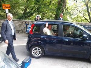 Misericordia Papa Francesco Eremo delle Carceri