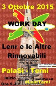 Lenrterni e Rinnovabili Work Day Pala sì con patrocinio