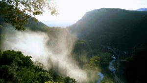 Acqua Viva: La Cascata delle Marmore vista dall'alto del sentiero cinque