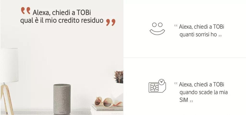 What TOBi can do on Alexa