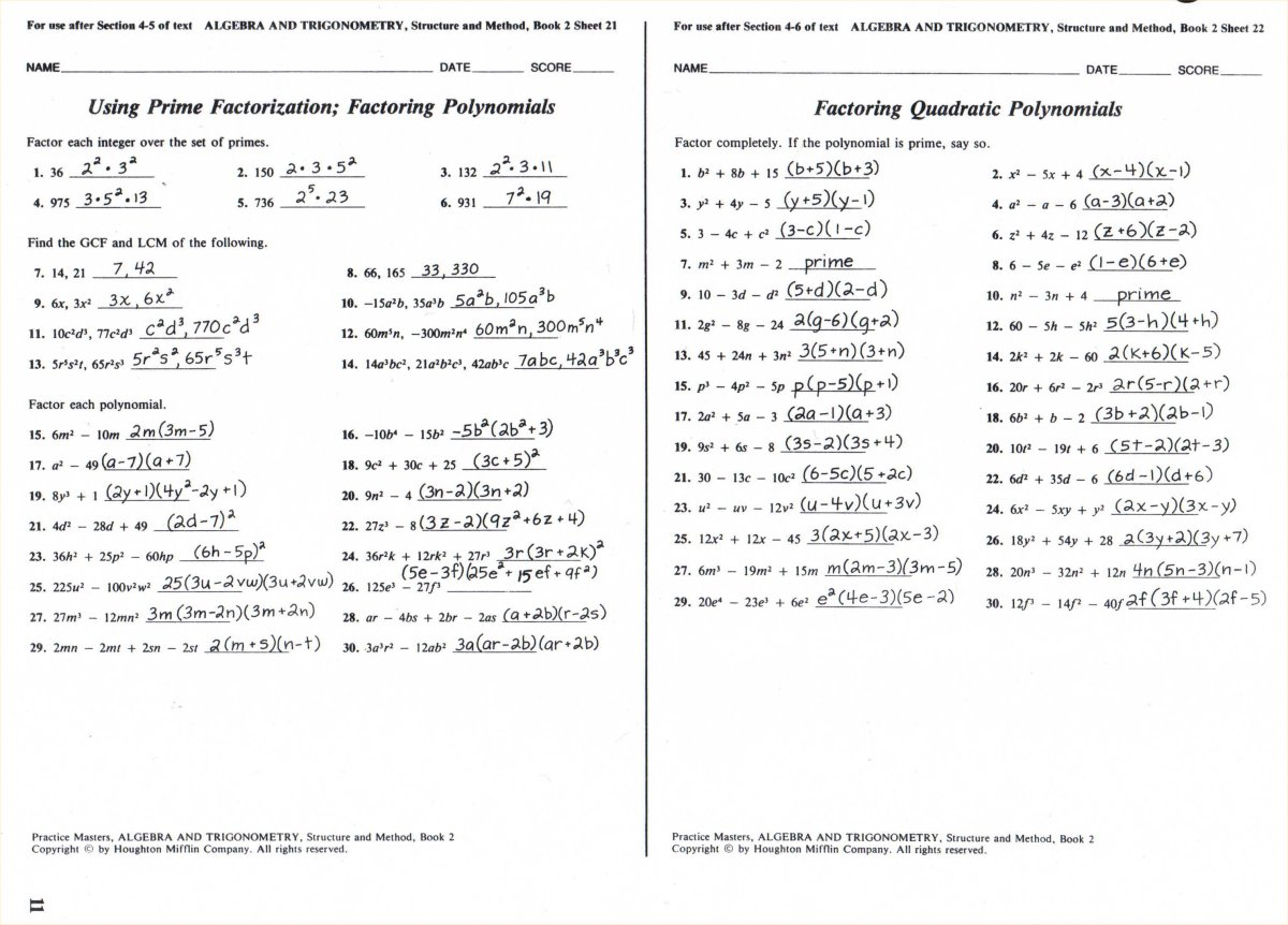 Worksheet Glencoe Mcgraw Hill Algebra 1 Answers