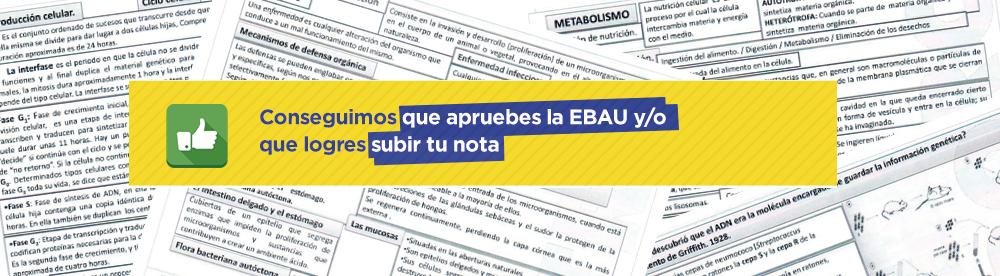 Apuntes de Biología EBAU (nueva selectividad) de CLAUSTRO