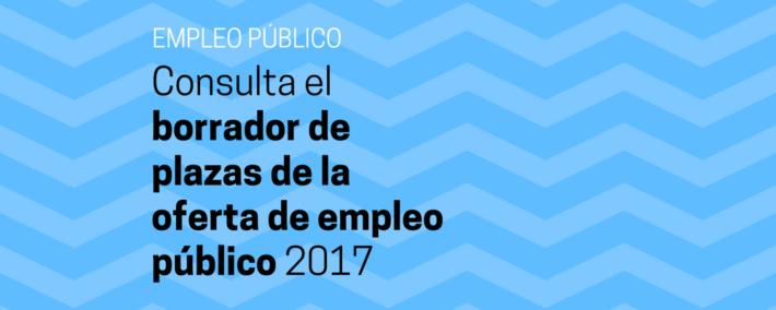 Borrador de la oferta de empleo público para 2017 - Academia Claustro