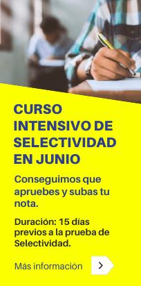 67 edición del curso intensivo de Selectividad en junio de la Academia CLAUSTRO en Sevilla - COVID19