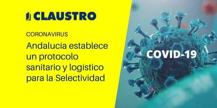 Protocolo sanitario para la Selectividad en Andalucía