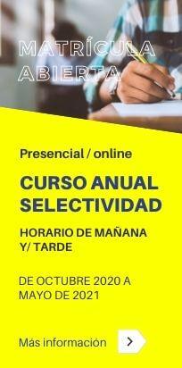 Curso anual de Selectividad (PEvAU)