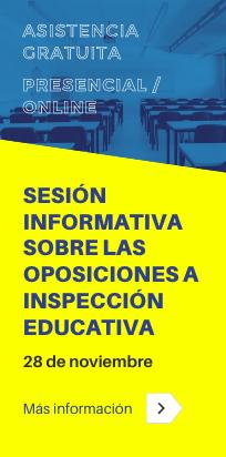 Sesión Informativa para las Oposiciones al Cuerpo de Inspectores de Educación en Andalucía