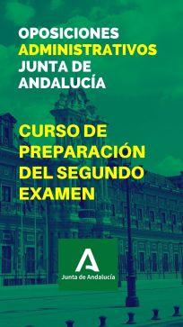Curso de preparación del segundo examen de las oposiciones a Administrativos de la Junta de Andalucía (C1.1000)