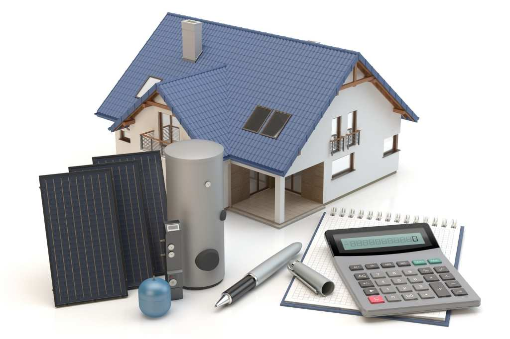 rooftop-solar-components-Calgary-roofing-specialist | Claw Roofing