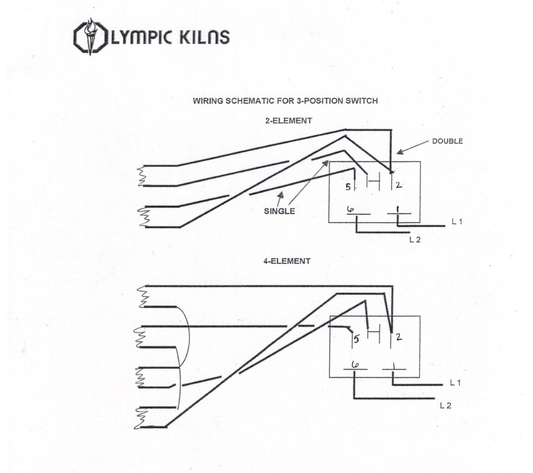 duncan kiln wiring diagram labeled eye disease all generic parts of high quality clay king com 3 position switch 120v 240v schematic