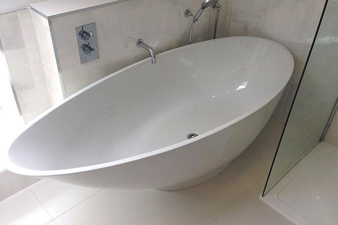 Bathroom Tiles & Freestanding Bath