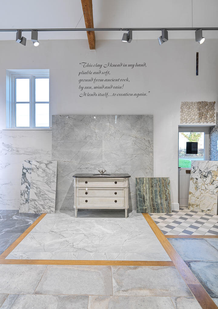 Porcelain floor and wall tiles