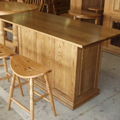 Oak Kitchen Islands Pull Out Shelves For Solid Amish Made Raised Panel Island Or Bar On Wheels With Storage