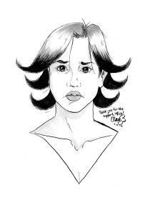 October, 2016 sketch of depressed character #7, won by Mink Rose.