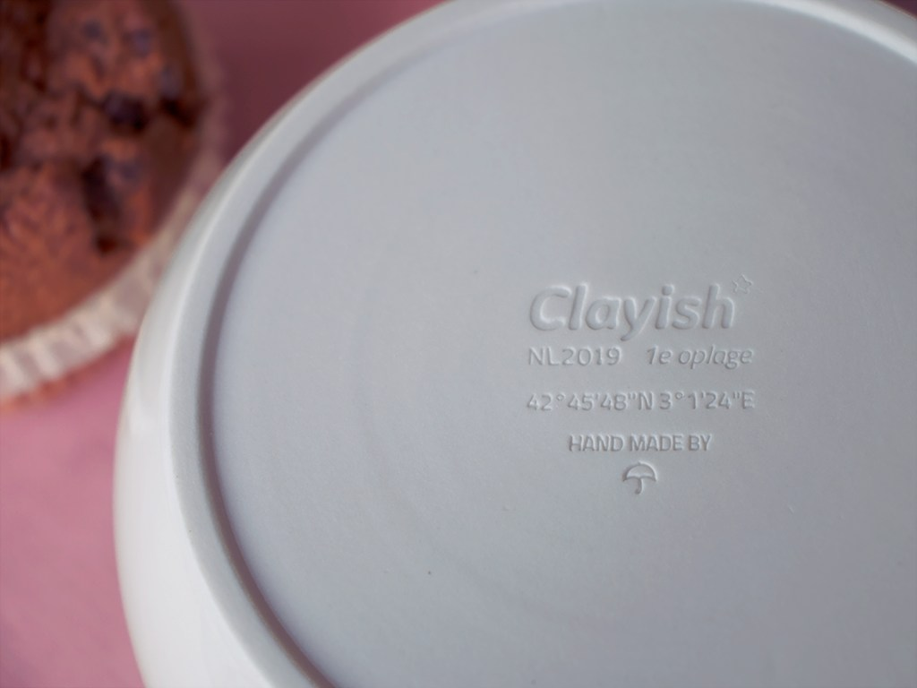 custom afdruk Clayish servies
