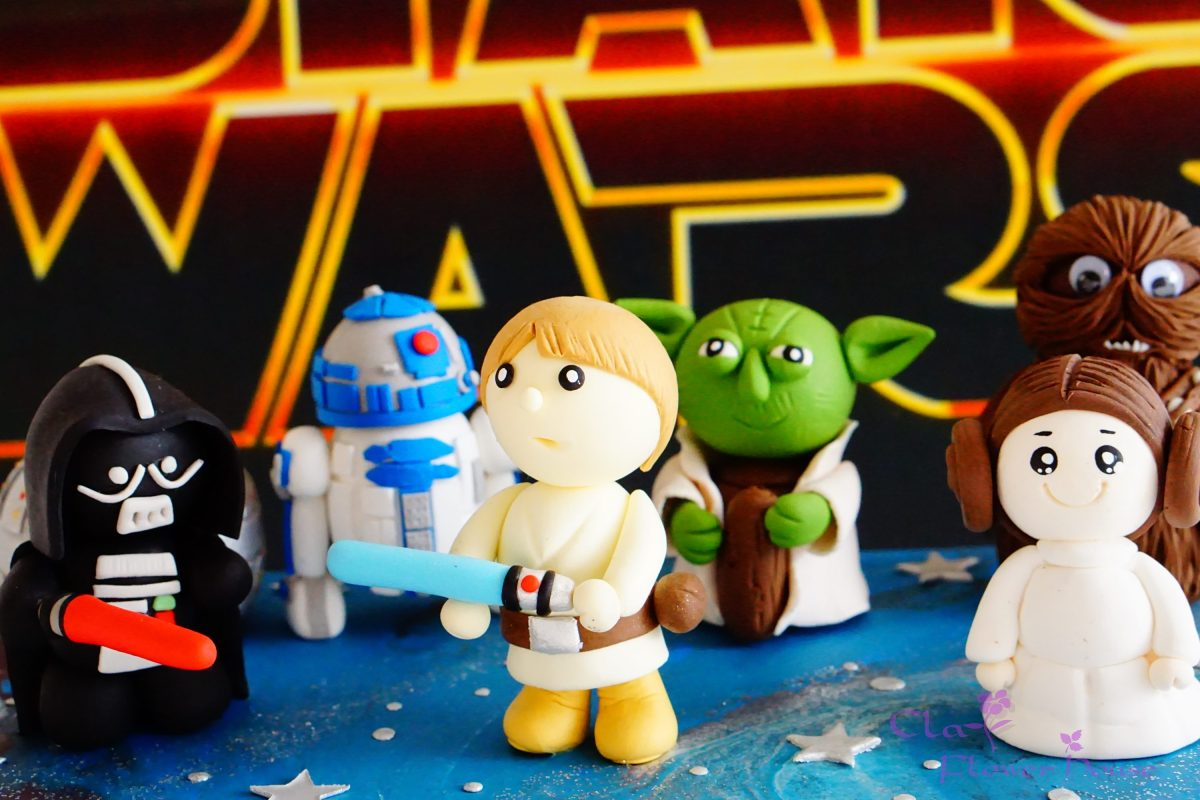 Star War Figures Clay Project