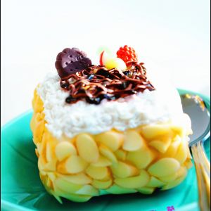 Dessert Made out of Clay