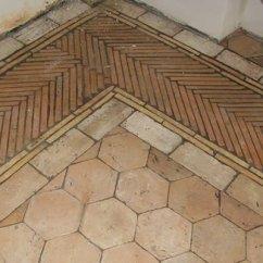 Ceramic Tiles For Living Room Floors Furniture Ideas Rooms Handmade Terracotta Bricks Floor Pavers Design.