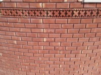 Red Gutka Wall Face Tiles Pictures Houses Design Size Rate ...