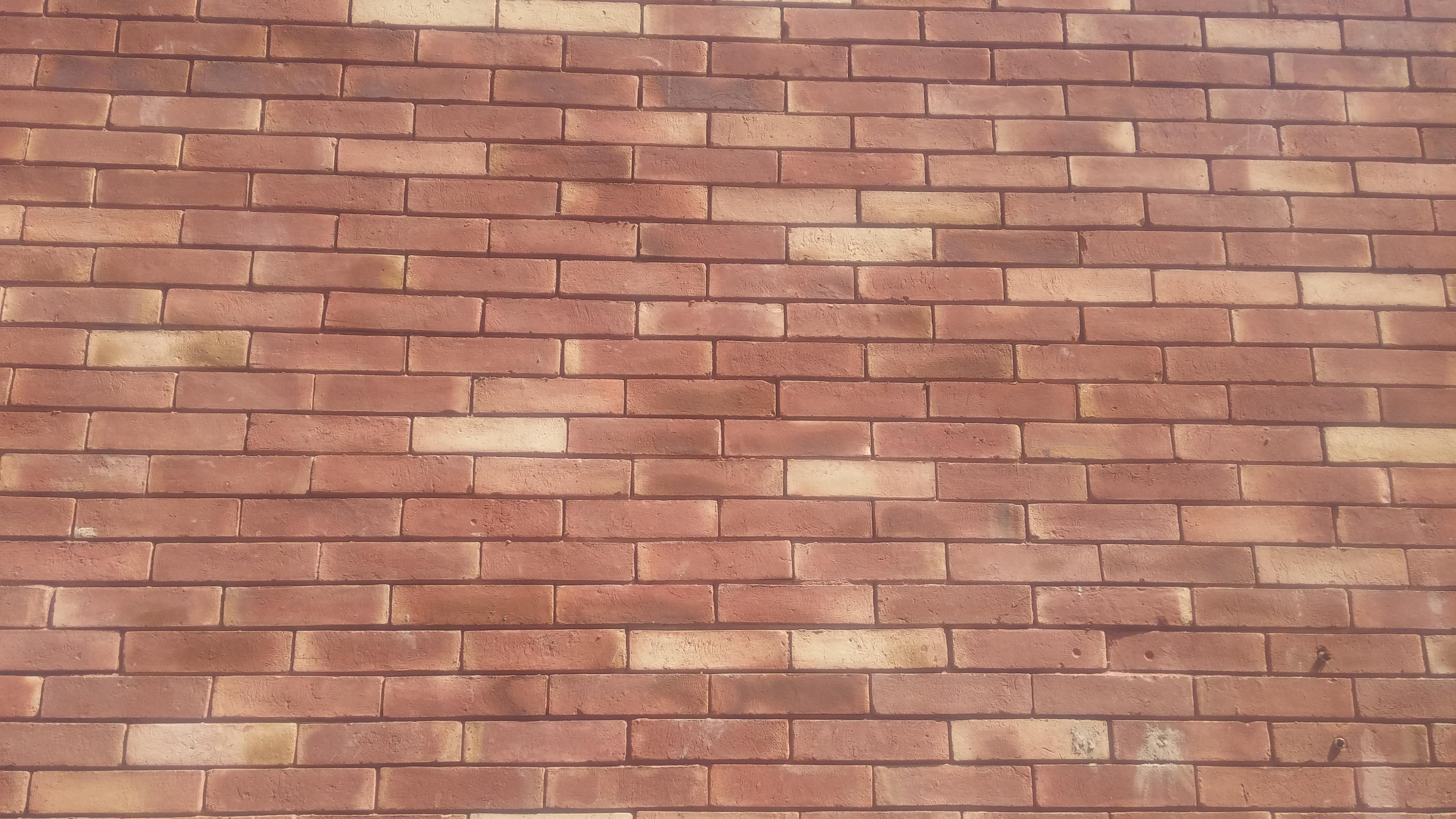 house front boundary wall gutka bricks