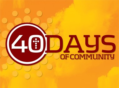 40 Days of Community Campaign