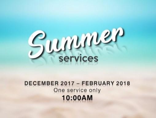 Summer Services