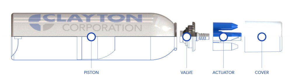 medium resolution of clayton is a world leader in aerosol dispensing technology including valves covers actuators barrier packages and custom solutions