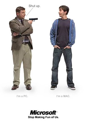 Armed PC vs. Mac