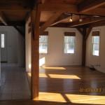 Post and Beam Interior