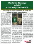 Articles & Case Studies, Clayton Industries