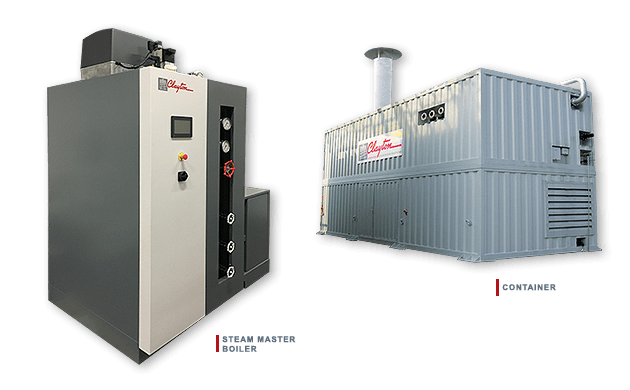 Clayton Industries Steam Master Boiler and Container