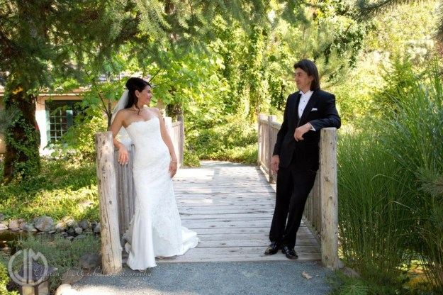 cute picture of bride and groom