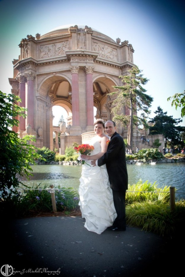 Bridal Portrait at Palace of Fine Arts