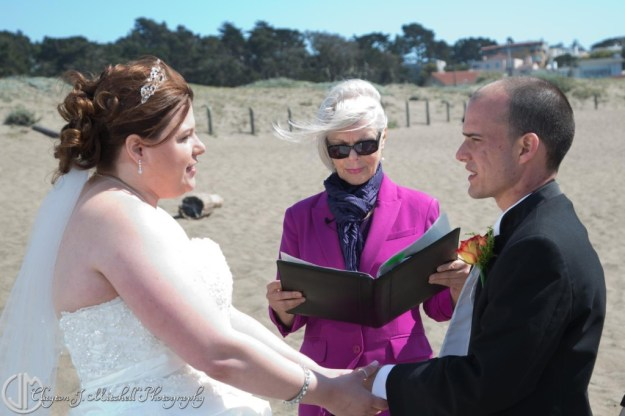 San Francisco Baker Beach Wedding