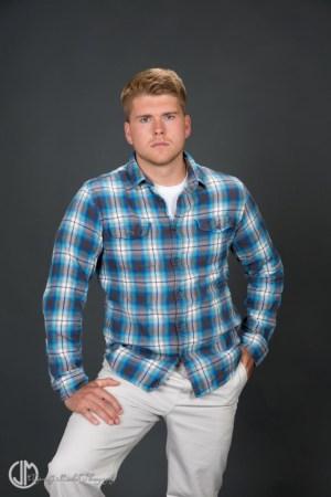 Male Model in Plaid