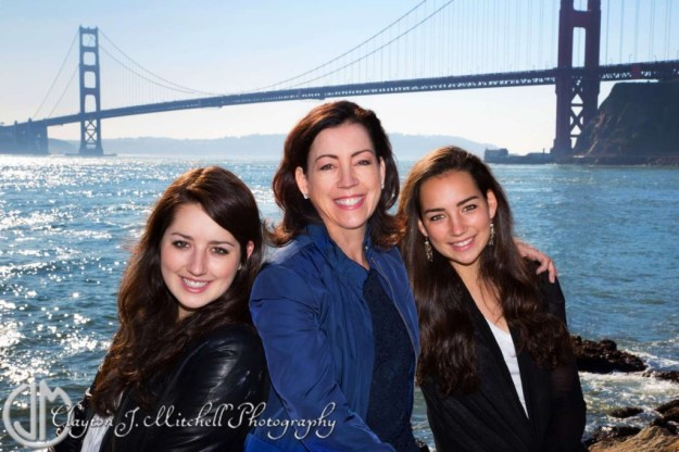 Mother daughter photography Sausalito California