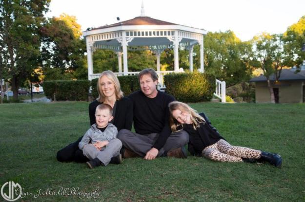 Benicia CA family portrait