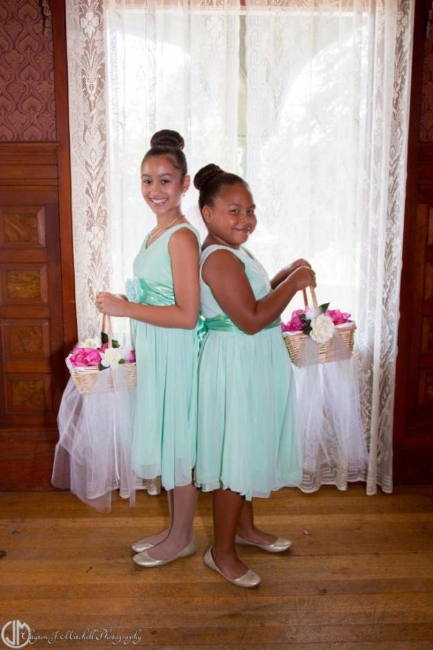 flower girls photograph