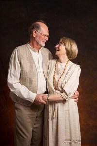 Fiftieth Anniversary Couples Portrait