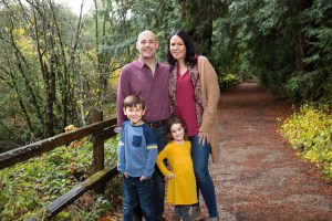 Family at Redwood Regional Park