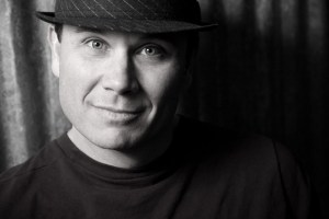 BW Man in Hat Headshot