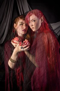 Persephone and Demeter with Pomegranate
